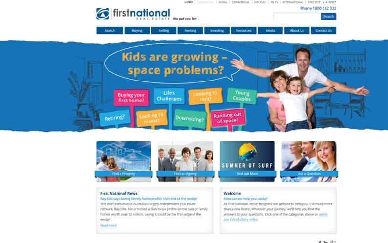 First National website